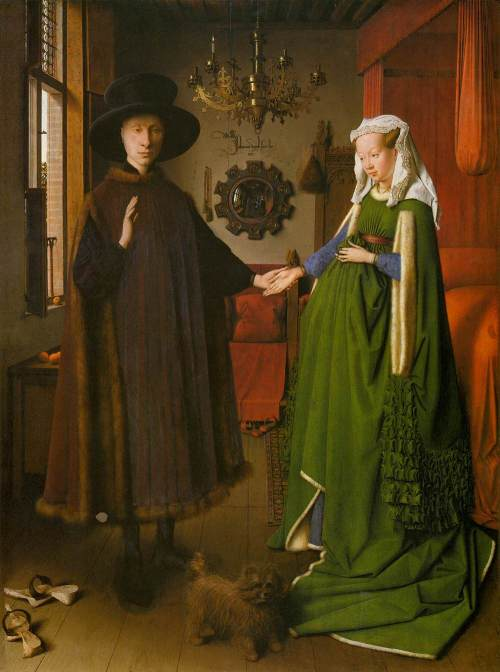 Jan van Eyck, The Arnolphini Wedding, 1434