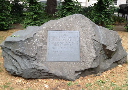 Monument to Conscientious Objectors