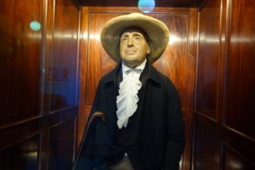 Jeremy Bentham (w/ wax head)