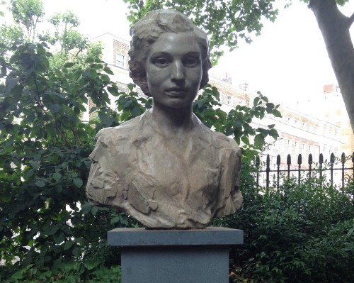 Memorial to Noor Inayat Khan