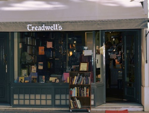 Treadwells Books, Bloomsbury