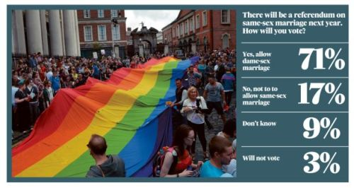 Statistics for Ireland's Gay Marriage Referendum