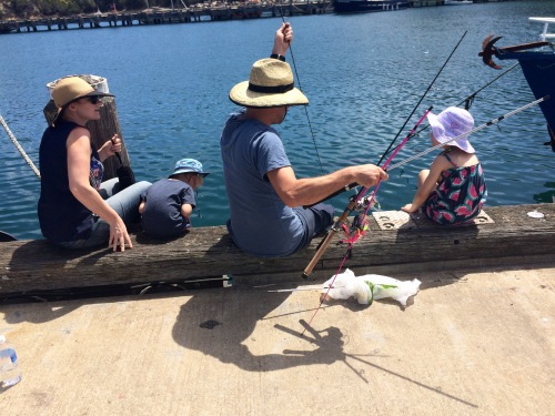 Families that fish together, stay together!