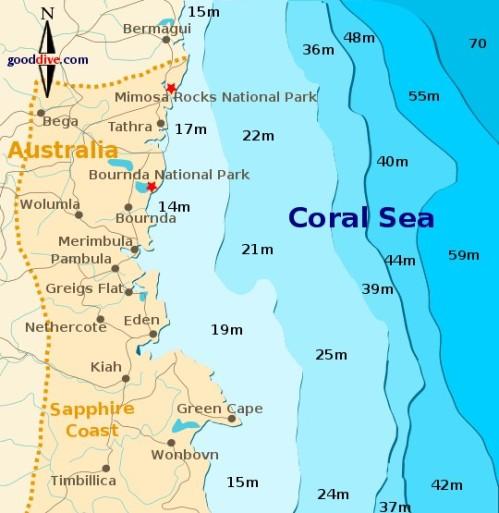 The Sapphire Coast, NSW