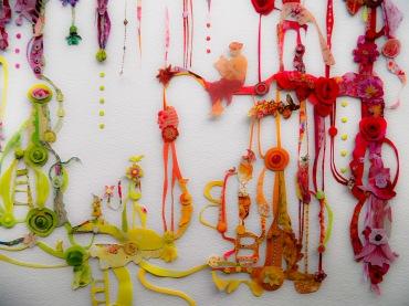 "The Garden 22"" 30"" hand-cut collage"