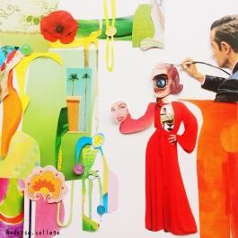 14Jun18 - hand-cut collage