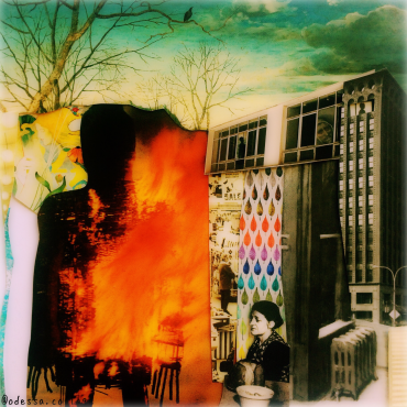 1Jul18 - Hand-cut collage